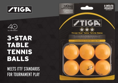 premium quality balls suitable for playing table tennis with an ease