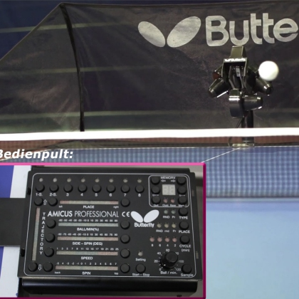 Butterfly Amicus Professional Ping Pong Robot